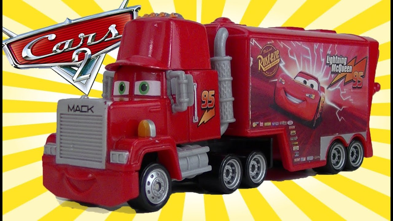 Cars Mack Truck Toy Hauler Disney Cars Toys Mack Lightning