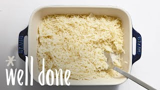 How to Make Easy Oven Rice | Recipe | Well Done