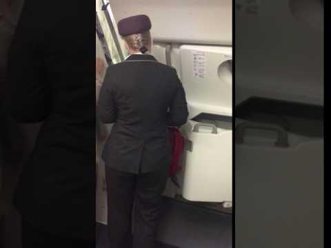 Emirates A380 Upper Deck Door Opening