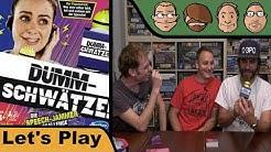 Dummschwätzer - Brettspiel - Let's Play spezial mit Peat & Alex