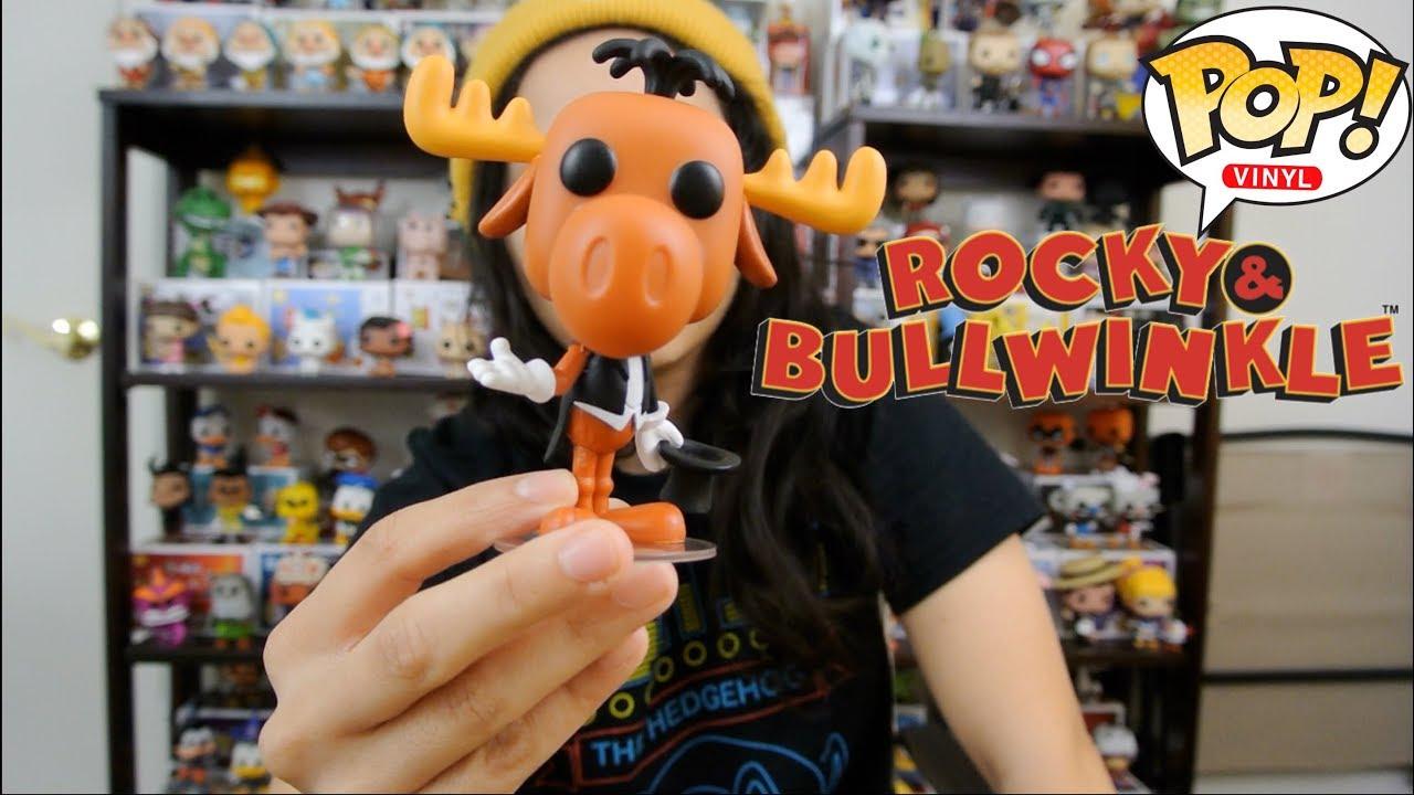 Bullwinkle Funko Pop Review Rocky Bullwinkle Youtube