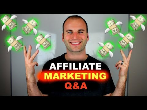 HOW TO MAKE MONEY WITH AFFILIATE MARKETING – Q&A