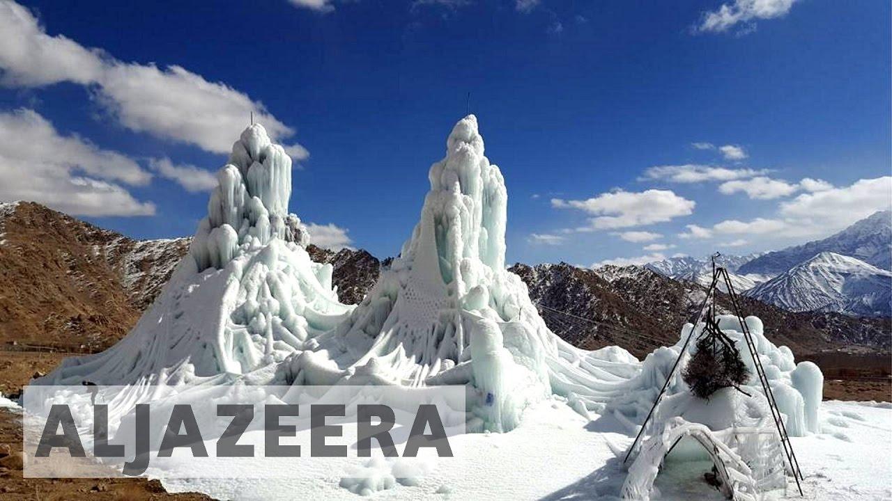 🇮🇳 earthrise - Ladakh's Ice Stupa Project
