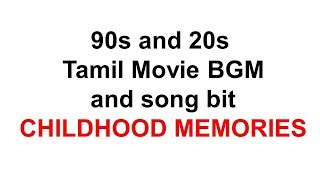 Tamil movie BGM collections I 90s Movie BGM I 20s Movie BGM Collection