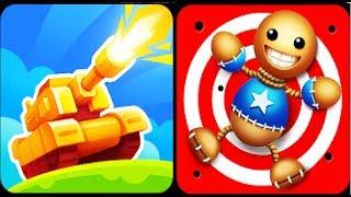 Bowmasters Tank Stars игра о танковых сражениях от разработчиков игры Боумастер и Кик зе бади