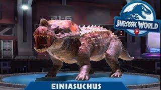 HYBRID EINIASUCHUS UNLOCKED    Jurassic World Alive Android Gameplay
