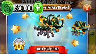 Dragon City - Fortune Dragon [Pyramid Island | Completed 2018]