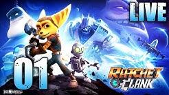 Das PS4 Remake! - Ratchet & Clank Remake | 001 | [DE/GER] LIVESTREAM - Let's Play