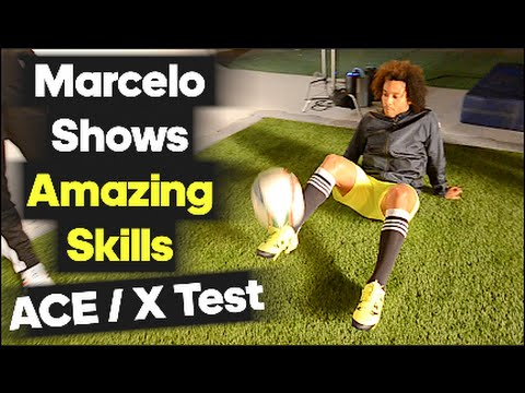 Marcelo Amazes with Skills on Set! - adidas X test