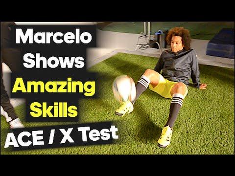 Marcelo Amazes with Skills on Set! - adidas X test