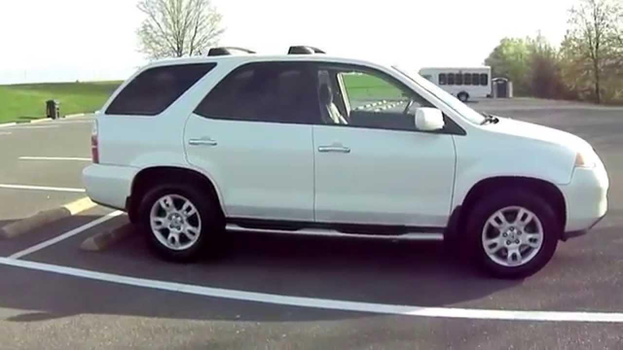2006 Acura Mdx White