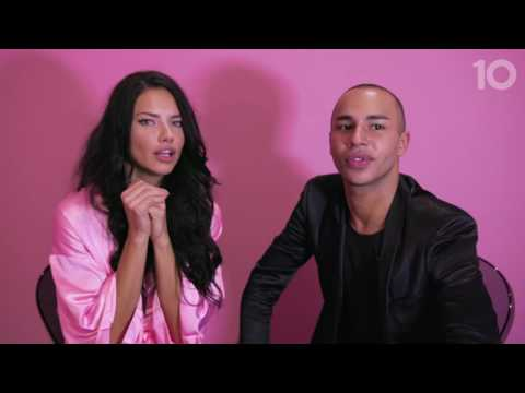 10TV Voices of the Angels: Starring Adriana Lima And Olivier Rousteing