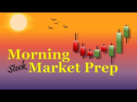 Morning Market Prep | Stock & Options Trading | 9-23-19