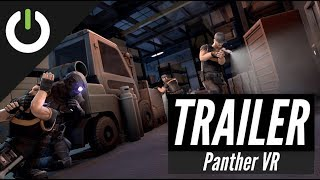 Panther VR Stealth Action: Announcement Trailer (Rift, Vive, Index)