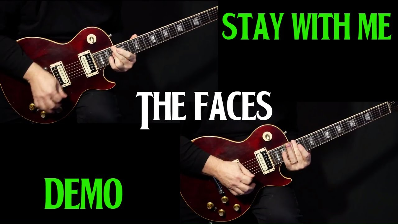 how to play stay with me on guitar by the faces electric guitar lesson demo youtube. Black Bedroom Furniture Sets. Home Design Ideas