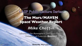 The Mars/MAVEN Space Weather Report