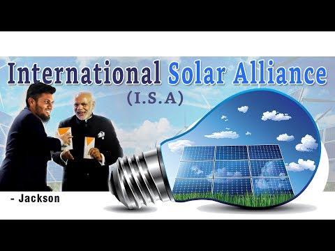 International Solar Alliance - Explained | Mr.Jackson