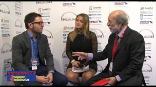 Miguel Suárez entrevistado por Javier Baranda en el XVI Congreso de la CETM