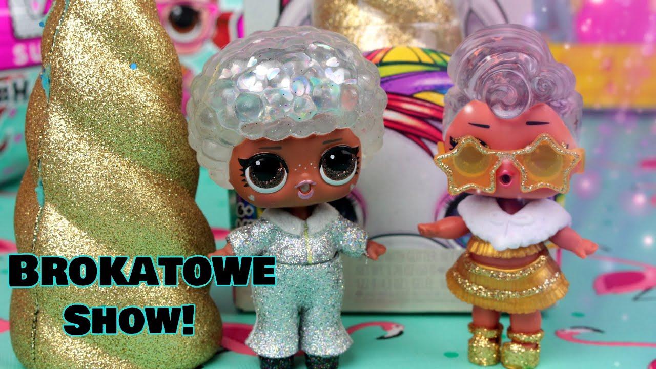 LOL Surprise Winter Disco ❄️ Wielkie show Poopsie Unicorn Slime Crush 🦄 bajki dla dzieci