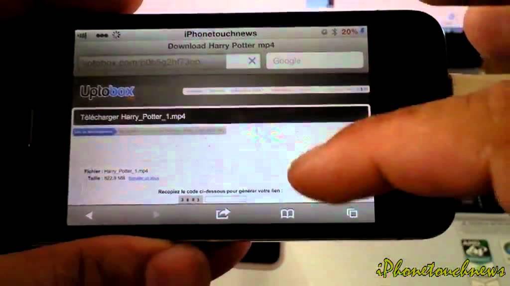 comment regarder un film sur son iphone sans passer par itunes youtube. Black Bedroom Furniture Sets. Home Design Ideas