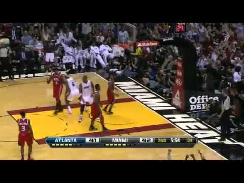 Hawks vs. Heat | Game Recap | NBA 2012-13 Season Dec 10, 2012