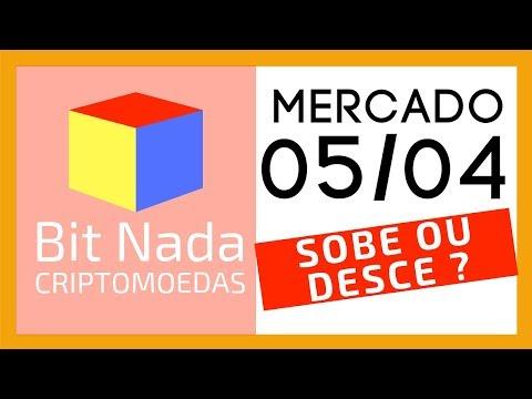 Mercado de Cripto! 05/04 E agora? Bitcoin corrige ou sobe?