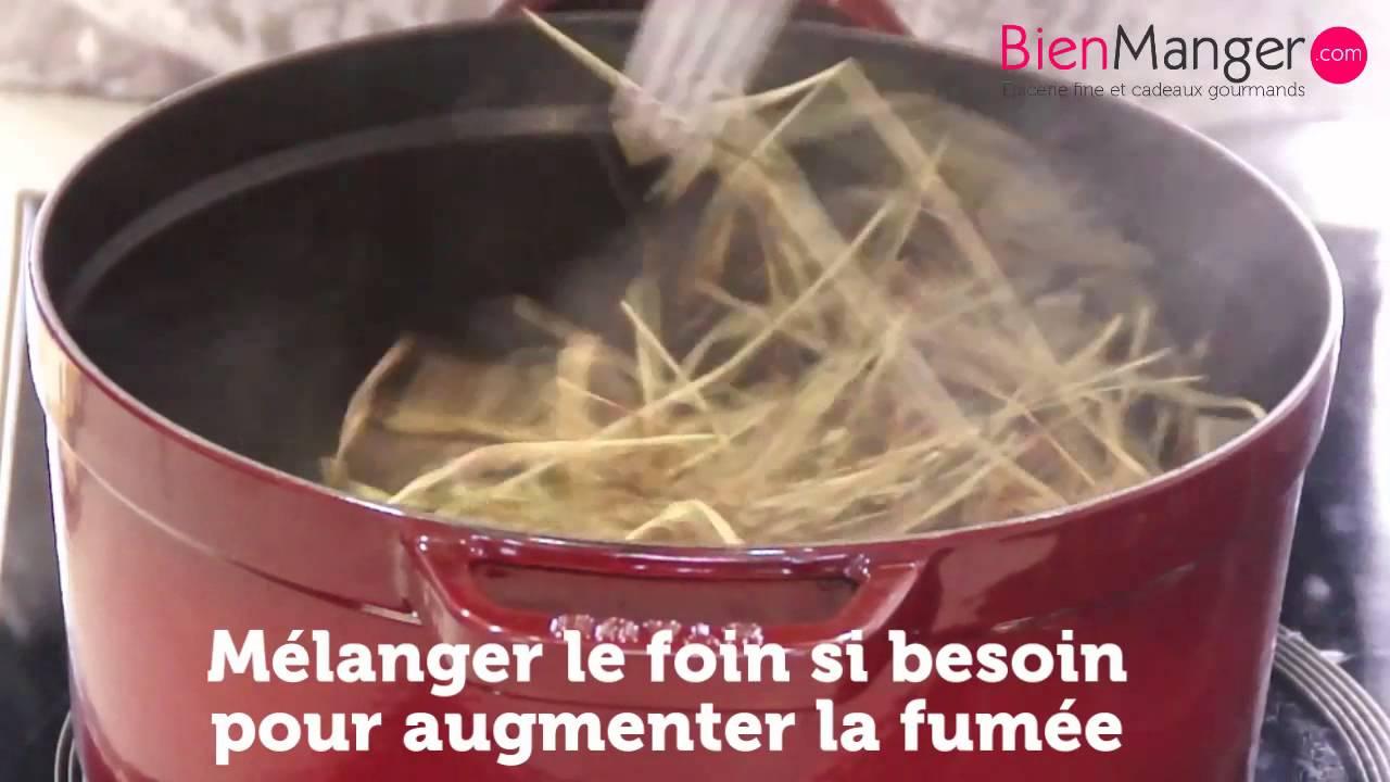 Ch vre fum au foin de crau recette youtube - Cuisiner avec une cocotte ...