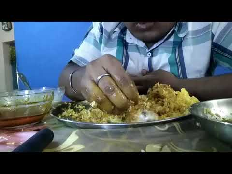 Eating Chicken Fried Rice with Mutton Curry / By - SAVAGE FOODY.