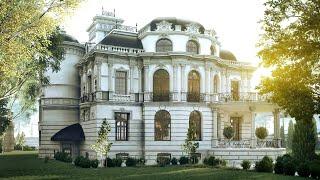 Проект дома в стиле барокко(http://www.topdom.info/portfolio/rl71.php ➨ обзор проекта на сайте архитектурного бюро ТопДом. ▻ Проект особняка в стиле..., 2015-09-25T11:23:48.000Z)