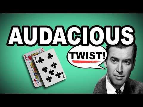 🦁 Learn English Words - AUDACIOUS - Meaning, Vocabulary Lesson with Pictures and Examples