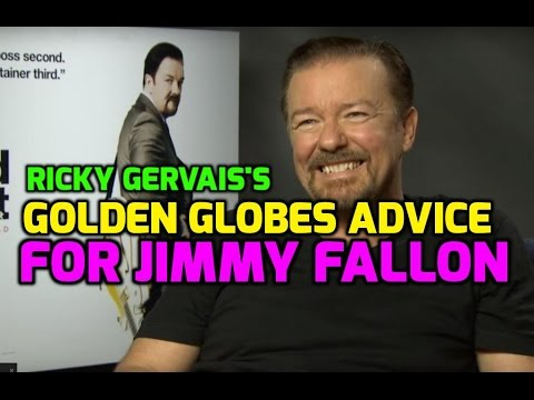 Thumbnail: Ricky Gervais gives Jimmy Fallon tips for hosting 2017 Golden Globes Awards