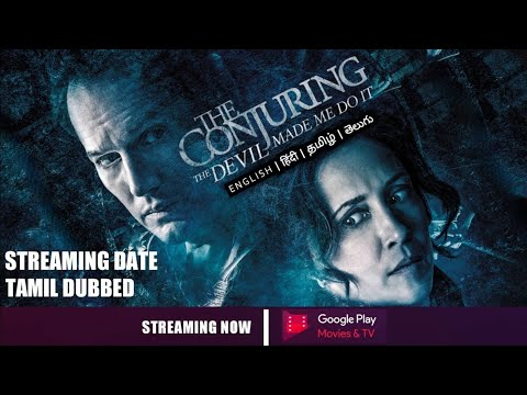 Download SK Times: Exclusive The Conjuring 3 Tamil Dubbed OTT Release Date, The Devil made me do it