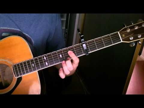 Red Right Ankle Tutorial for Guitar