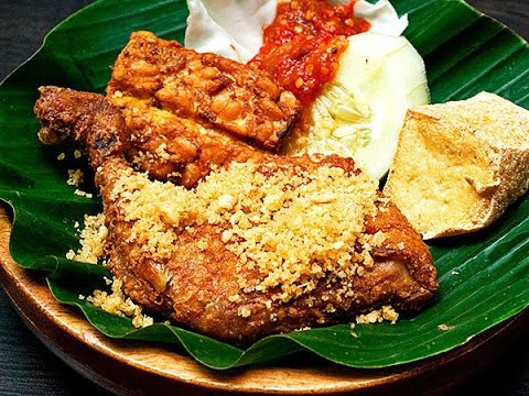 Resepi Ayam Penyet (Ori Medan) - YouTube