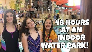THE BIGGEST INDOOR WATER PARK!!  GREAT WOLF LODGE!