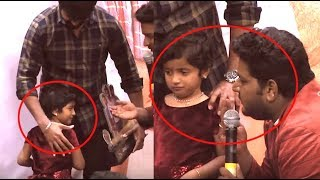 ஆராதனாவை அழவைத்த விக்னேஷ்காந்த் | Aaradhana Cute Speech and Crying | Sivakarthikeyan's Daughter
