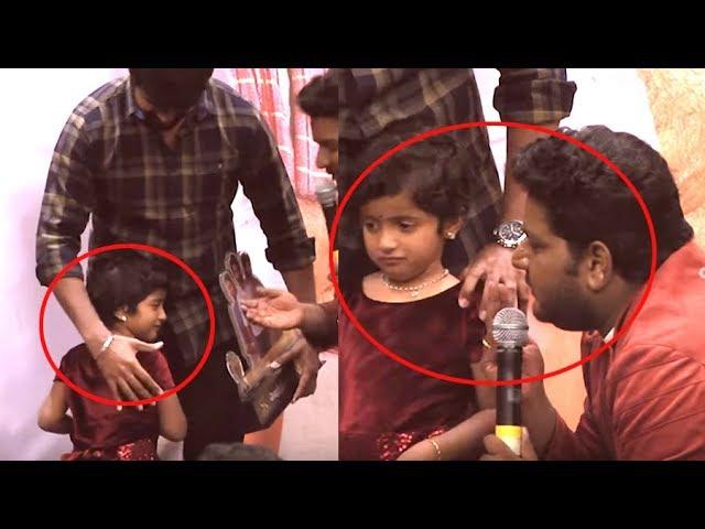 ஆராதனாவை அழவைத�த விக�னேஷ�காந�த� | Aaradhana Cute Speech and Crying | Sivakarthikeyans Daughter