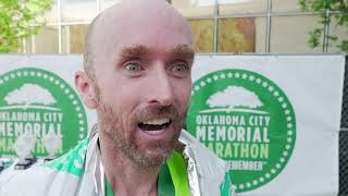 OKC Marathon - David Rhodes wins men's marathon