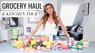 GROCERY HAUL & FULL KITCHEN TOUR | Annie Jaffrey