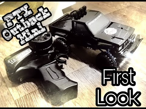 FTX Outback Mini 1/24 Scaler/Crawler first look.