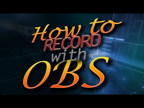 How to Quickly Start Recording with OBS (Open Broadcaster System)