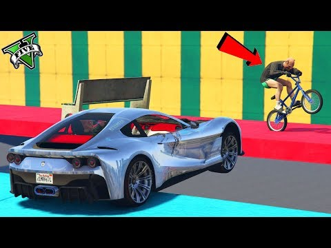 GTA 5 ONLINE 🐷 FERRARI VS BMX !!! 🐷 LTS 🐷N*288🐷 GTA 5 ITA 🐷 DAJE !!!!!!! thumbnail