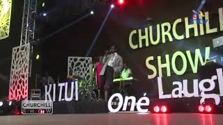 Prof Hamo Singing Kitole @Kitui Churchill Show 🔥🔥✌✌✌