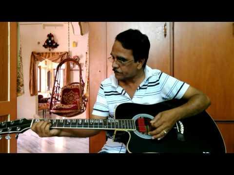 """"""" CHURALIYA HAI """" Hindi song from Hare Rama Hare Krishna movie by my Guitar."""