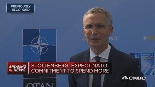 Fundamentally all allies agree, despite Trump's direct language: NATO's Stoltenberg | In The News