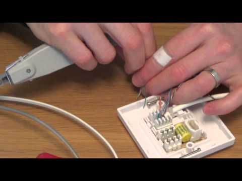 bt nte5 master socket wiring diagram 208v how to install a telephone extension on openreach nte5c 22 56