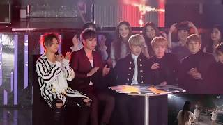 BTS reaction to Mamamoo's You're The Best + Délcomanie in SAF 2016