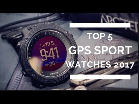 Best GPS Sport Watches 2017 - Top 5 List!