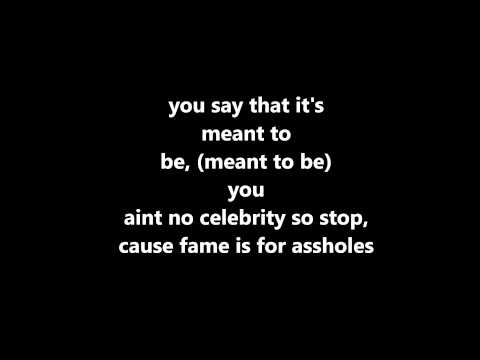 Fame Is For Assholes by Hoodie Allen  Chiddy | LYRICS HD