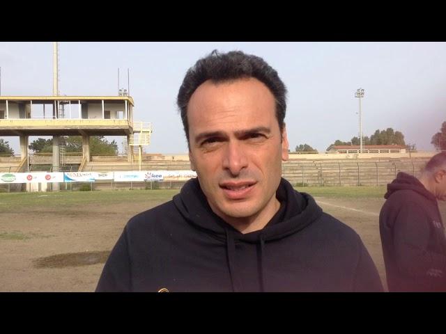 Giuseppe Costantino analizza la gara contro l'Olimpic Roma: